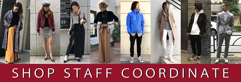SHOP STAFF COORDINATE